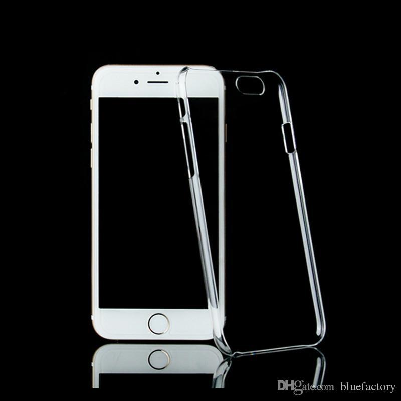 Für Iphone X Xr Xs Max 8 7 Plus Ultradünne Crystal Clear Transparente Pc Hard Case Für Samsung S8 S9 Kunststoff Sheild Schutzhülle