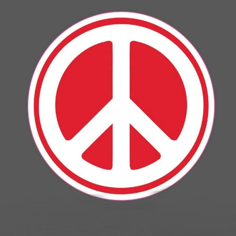 Online cheap 10 peace sticker smoke sticker world peace love awaken bicycle car sticker decal bumper stickers rainbow peace sign anti war stickers decals by