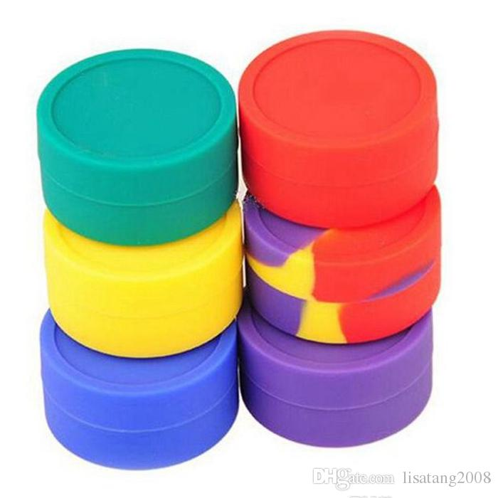 silicone wax box Wax Containers Silicone jars container silicone contianer for wax silicone jars dab wax container reusable