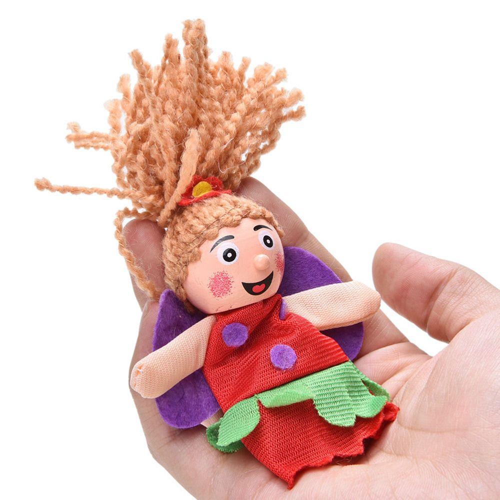 Little Mermaid Christmas Animal Finger Puppet Finger Toy Finger Doll Funny Pretty Kids Baby Toys Wholesale