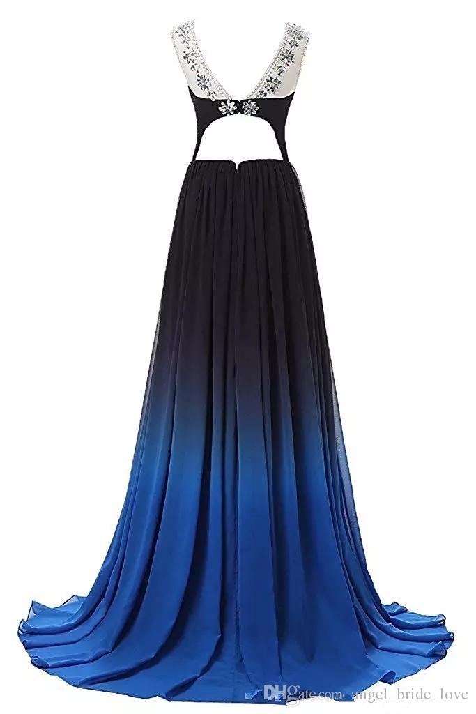 2018 Ile Yeni Zarif A-Line Uzun Gelinlik Modelleri Boncuk Kat-Uzunluk Parti Elbiseler Örgün Törenlerinde Vestido De Festa QS1024