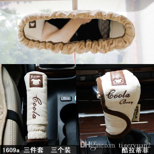 ... Sets Car Interior Decorations Accessories Three Piece Auto Parts Ready  For Cool Autumn Lovely Style Cool Car Decorations Cool Car Gadgets For Men  From ...