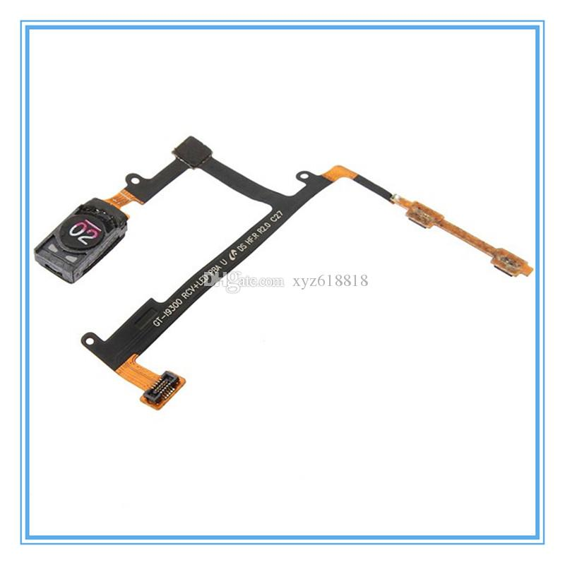 Original Replacement Speaker Ear Earpiece Audio Volume Button Flex Cable For Samsung Galaxy S3 S III GT-I9300 i9300