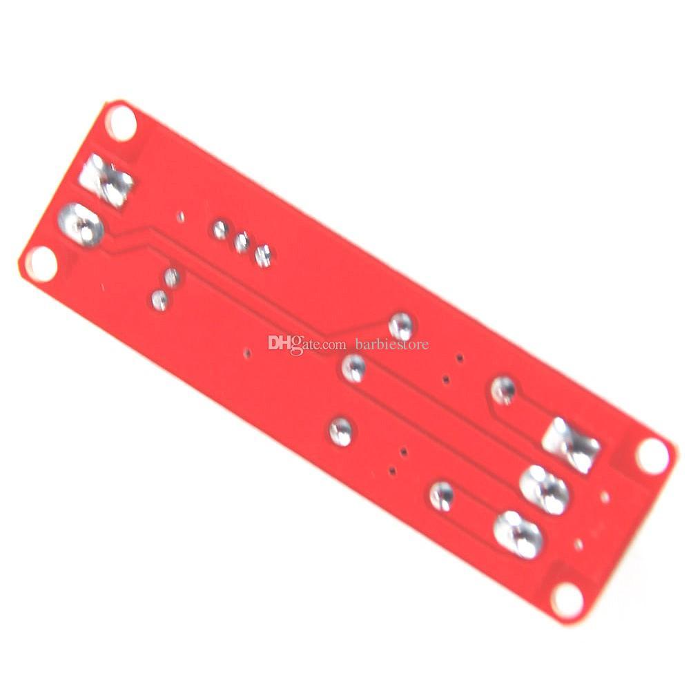 DC12V Interruptor de retardo de extracción Interruptor ajustable Módulo de relés 0 a10 Segundo rojo B00283