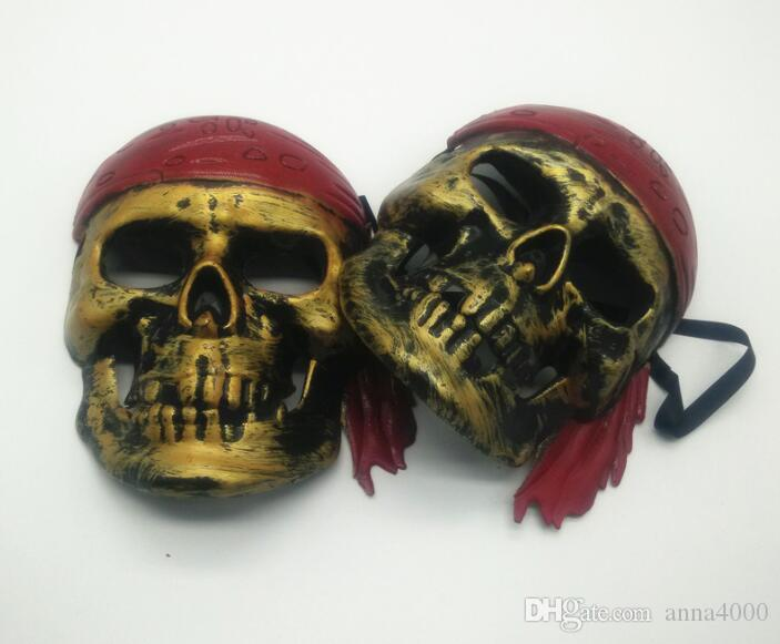 Halloween faces, horror skulls, masks, revelry, masquerade, atmosphere, performances, props, pirate masks wholesale