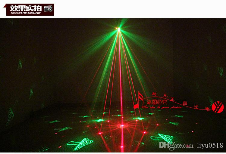 Remote control Twinkling Firefly Laser Light For Party Red and Green disco dj RG Mini firefly KTV party stage laser light