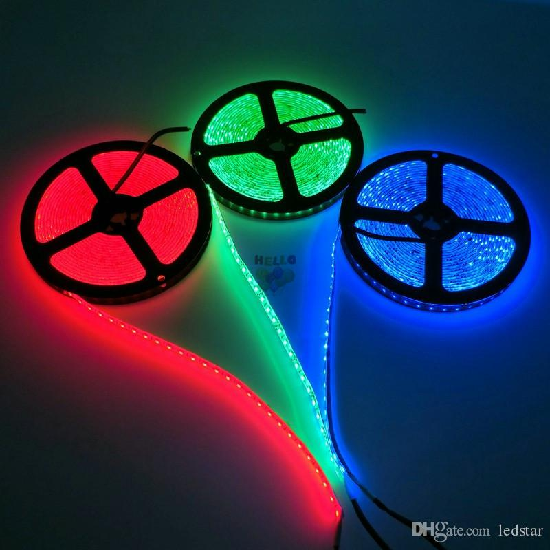 High Brightness 5M 600led SMD 2835 LED Strip Non waterproof DC 12V Diode Tape 120led/m Super Brighter than 3528 Flexible Light