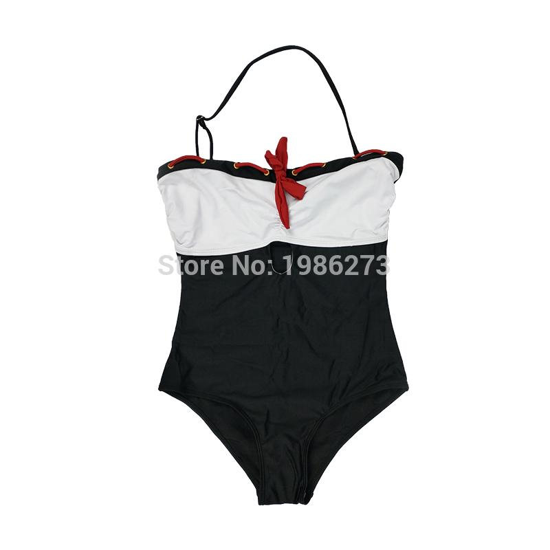26340c5c976 2019 Push Up New Red Tie Feminin Swimwear Halter Top Bathing Suits Restore  Ancient Ways One Piece Swimsuit Women Swim Monokini D001 From Jerry05, ...