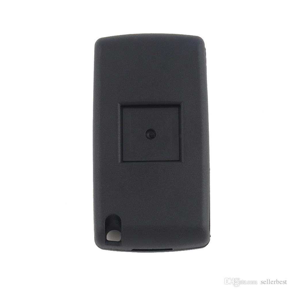 3 кнопка складной дистанционный ключ автомобиля чехол с LED выключатель света для Citroen C4 C5 C6 C8 для Xsara Picasso для CE0523