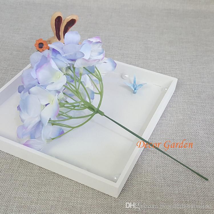 15CM Artificial Hydrangea Dekorative Silk Blüte für DIY Hochzeit Wand Bogen Hintergrund Landschaft Dekoration Zubehör Props
