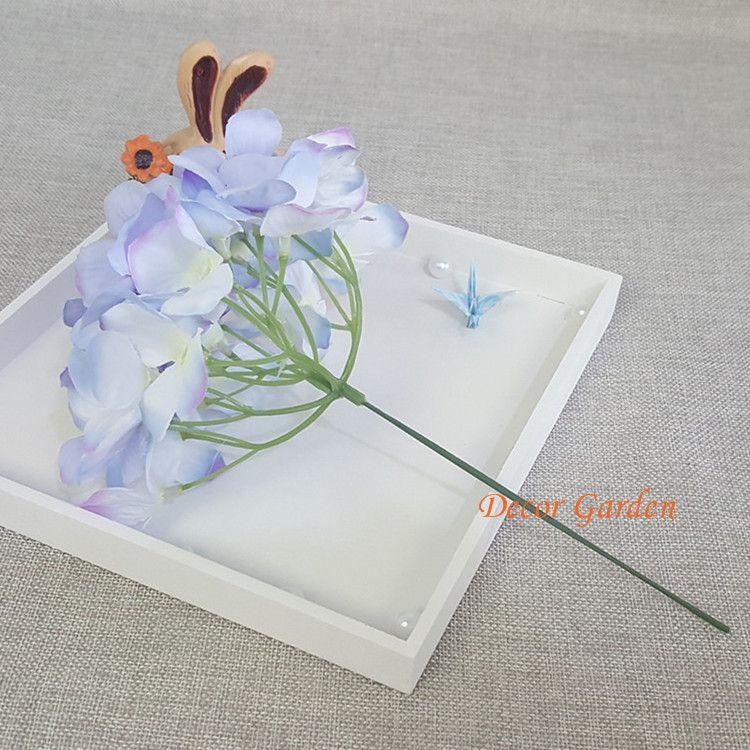 15CM artificielle Hydrangea décorative soie Corolle pour le bricolage mariage mur Arche de fond Paysage Décoration Accessoires Props