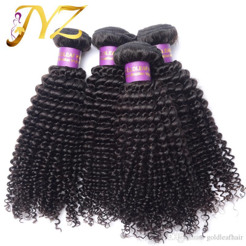 ¡¡Caliente!! Paquete de pelo brasileño pluma paquete de pelo peruano rizado rizado 100% sin procesar paquete de cabello humano envío gratis