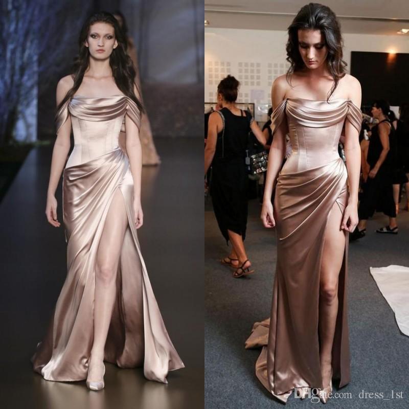 Sexy silk dresses