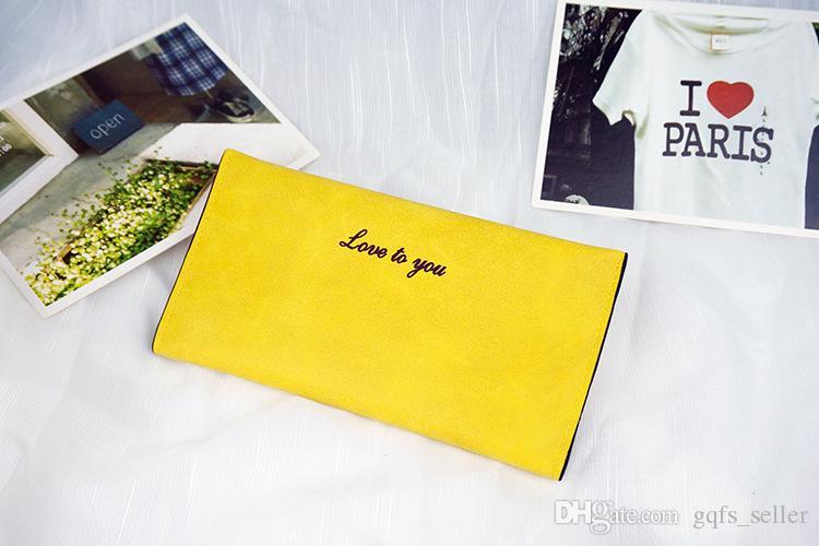 2016 donne in pelle borse a tracolla di marca le donne borse pu portafoglio lungo portamonete signore porta carte di credito portafogli del telefono