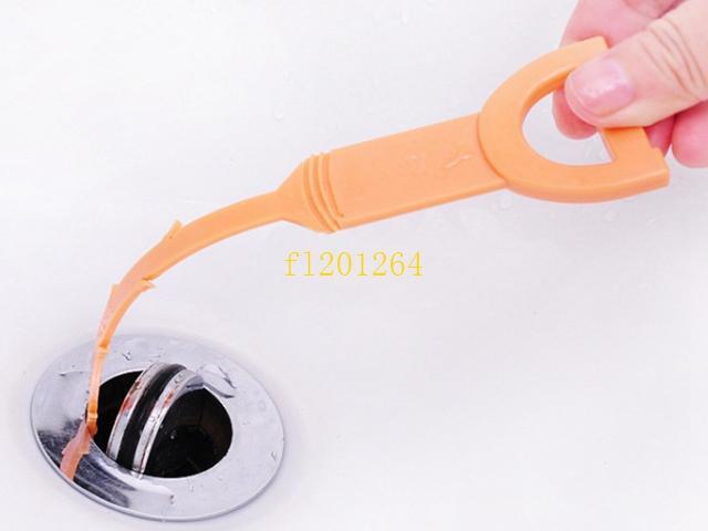/ Livraison Gratuite Cuisine En Plastique Drain Clogs Cleaner Evier Plomberie Nettoyage Petit Outil Crochet propre