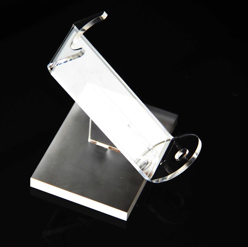 Новые акриловые e cig дисплей ясно черный стенд полка держатель базы vape стойку box show case для батареи ecig атомайзер rda box mod