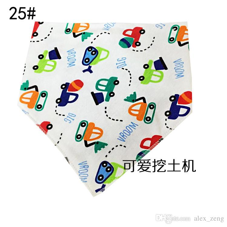 28 Styles Nouveaux enfants Triangle Bavoirs Bandana burp chiffons Bébé Coton mouchoir bébé Salive Bavoirs Pinafore Tablier Bébé Alimentation Livraison gratuite