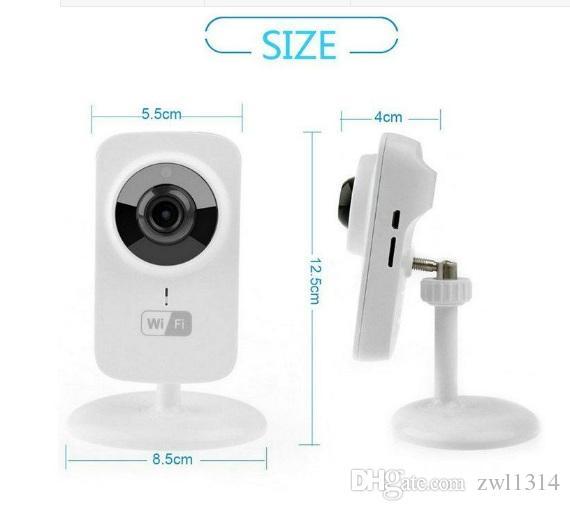Mini macchina fotografica portatile senza fili del P2P di HD 720p HD Wifi della macchina fotografica del IP di 5pcs con il monitor del bambino di modo