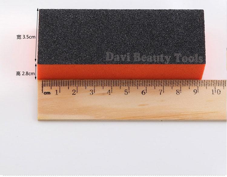 nail buffer block 80 100 180 lime unghie / file levigatura emery board manicure Nail care SPEDIZIONE GRATUITA # PK36314
