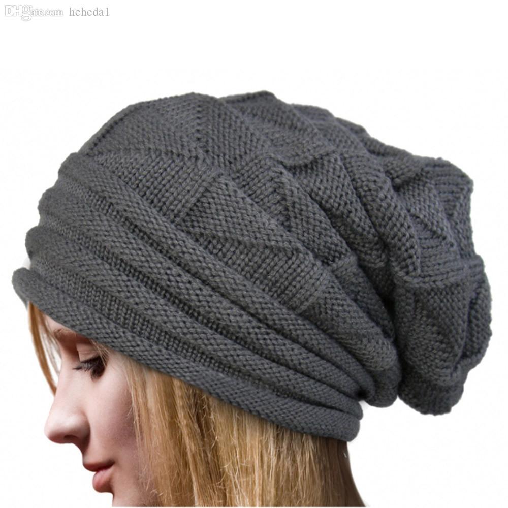 Großhandel Wholesale Fashion Bonnet Femme Frauen Winter Hut Female ...
