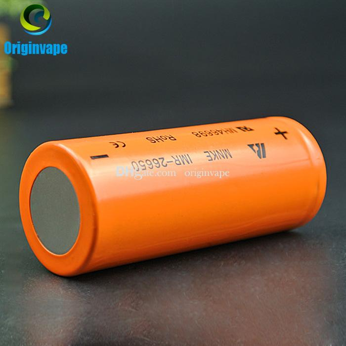 100% Original MNKE 26650 Battery 4500mah 60A Discharge Rechargeable Batteries For Electronic Cigarette Motor Bike Fedex