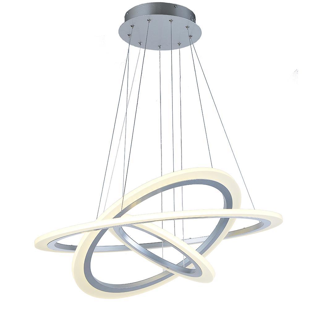 Vallkin luxury modern chandelier led circle chandelier lights for vallkin luxury modern chandelier led circle chandelier lights for living room cristal lustre chandelier lighting white sliver 110v 220v fcc modern pendant aloadofball Images