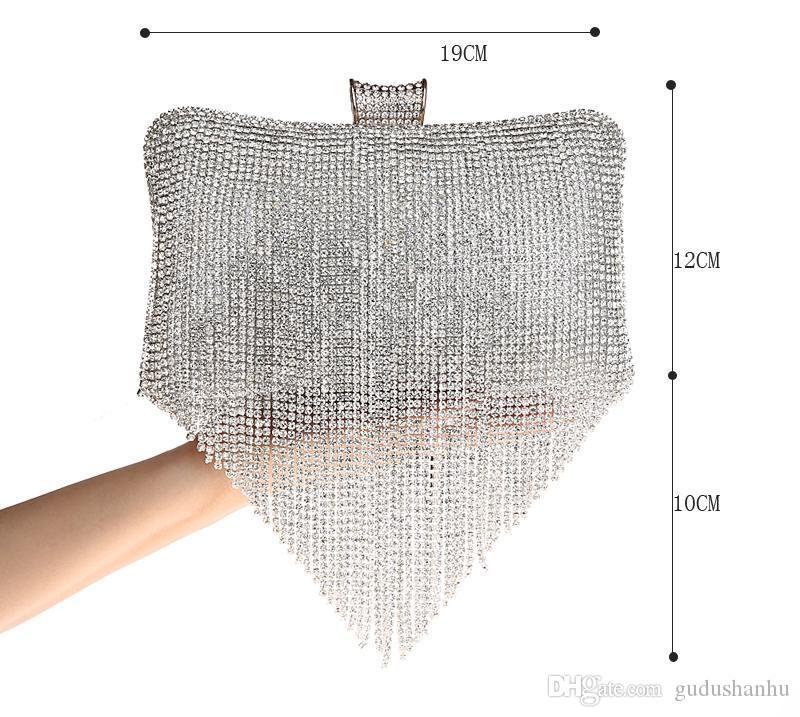 Kadın Çanta Lüks Akşam Çanta 2016 Kış Çanta Çanta Moda Çanta Tasarımcısı Marka Yüksek Kalite Flaş Bolsa Feminina HQB1706