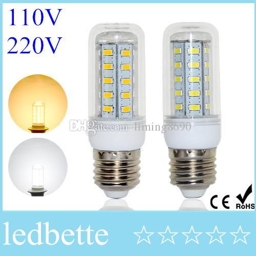 1e9a7d69a45 Compre Lámparas LED E27 11W 36 LED CA 220 V Bombilla De Maíz  Energéticamente Eficiente Ultra Brillante 5730 SMD Luz LED UL A  1.71 Del  Liming8690