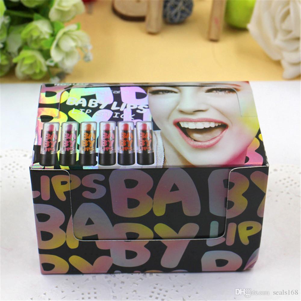 6 Farben Neue Baby lippen Wasserdichte Lippenstift Matte Pintalabios Flüssigkeit Lippenstift Nude Matte Kissproof Lippen Gloss Make-Up Schönheit Werkzeuge ZJ-L07