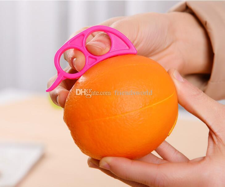 Cute Mouse Shape Lemons Orange Citrus Opener Peeler Remover Slicer Cutter Quickly Stripping Kitchen Tool Fruit Skin Remover Knife