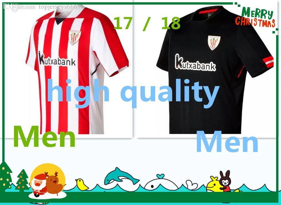 Online Cheap Top Thai Quality 2017 2018 Athletic Bilbao Jersey 17 18 Home  Away SUSAETA GURPEGUI MUNIAIN Football Jerseys Shirt By Topjerseys666  e10adae921a07