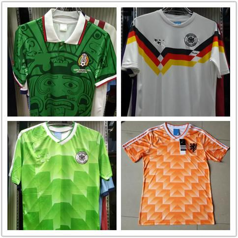 604699f2f 2019 Retro Vintage 1998 World Cup Mexico Soccer Jerseys Cuauhtemoc Blanco  Jorge Campos Jerseys From Faycai02