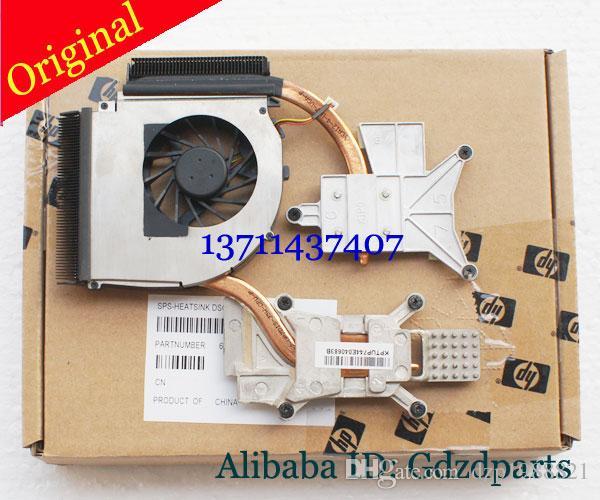 Kühler für HP DV7 DV7-3000 DV7-3001TX DV7-3080CA Laptop Kühlkühlkörper mit Fan 587244-001 582322-001 KSB0505HA-9B32