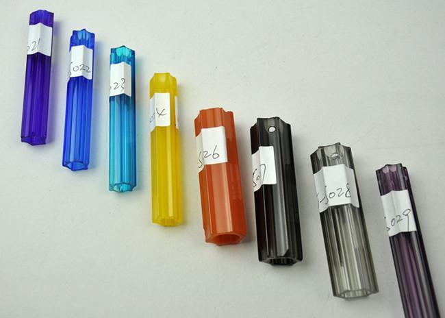 Высокое качество цепи K9 LED люстра синий выдувной стеклянный рот выдувной простой дизайн стеклянный офисный потолочный светильник