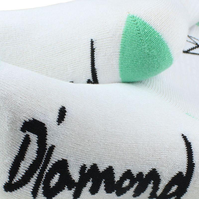 2021 Wysokiej Jakości Mężczyźni Marka Długie Skarpetki Klasyczna Diamond Deskorolka Kompresja Terry Bawełna Męski Dorywczo Kosz Meias