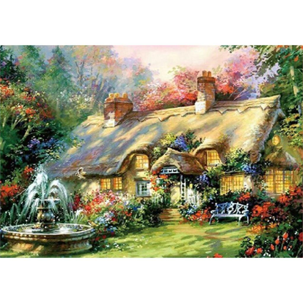 2017 Wonderful Design 5d Diy Diamond Painting Dream House Square