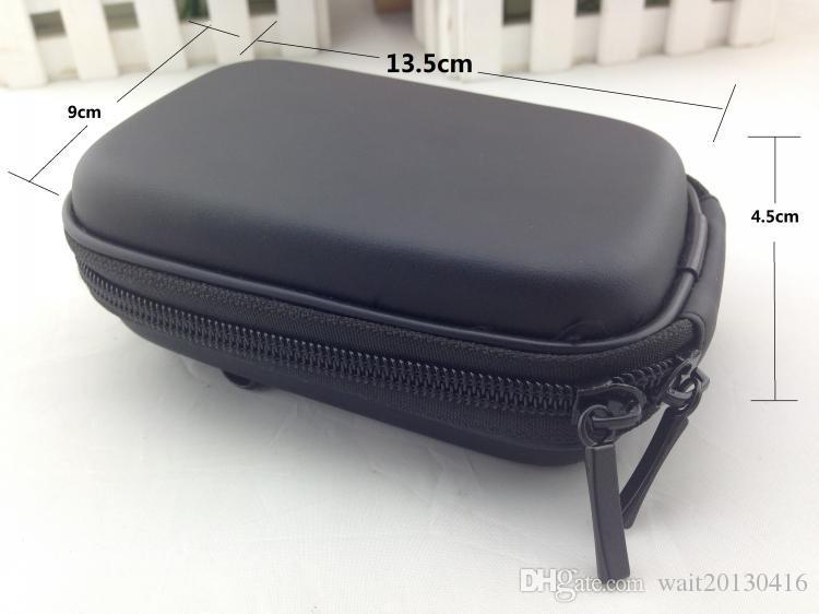 New Good Quality Black Zipper Digital Camera Compact Hard carry hook Case Box