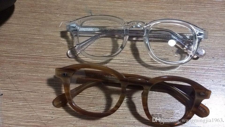 Óculos de sol Quadros johnny depp prancha óculos de armação quadro restaurar antigas formas Óculos de grau homens e mulheres óculos de miopia quadros