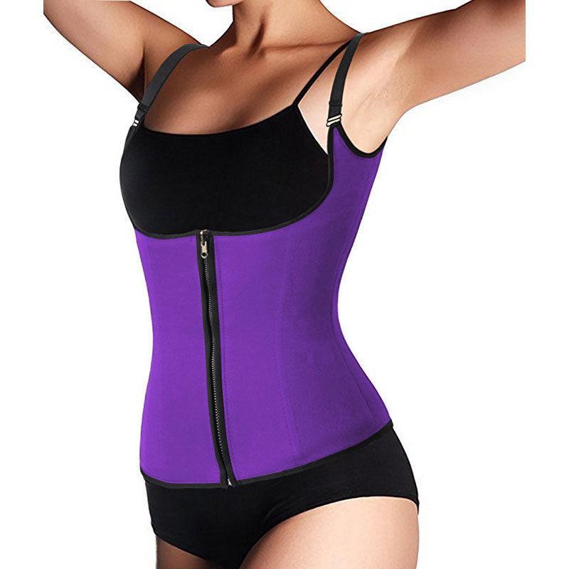 82d8a7178e Sexy Women Body Shaper Latex Rubber Waist Trainer Cincher Underbust Corset  Shapewear Slimming Waist Slim Belt Vest Underbust Shapewear Waist Trainers  Waist ...