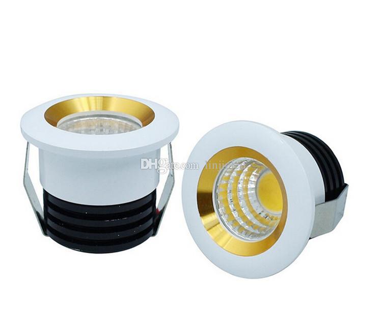 Fabrika toptan karartma 5W kapalı led spot lambası Sıcak Soğuk Beyaz AC85-265V armatürler ışık LED Tavan aşağı Mini LED gömme