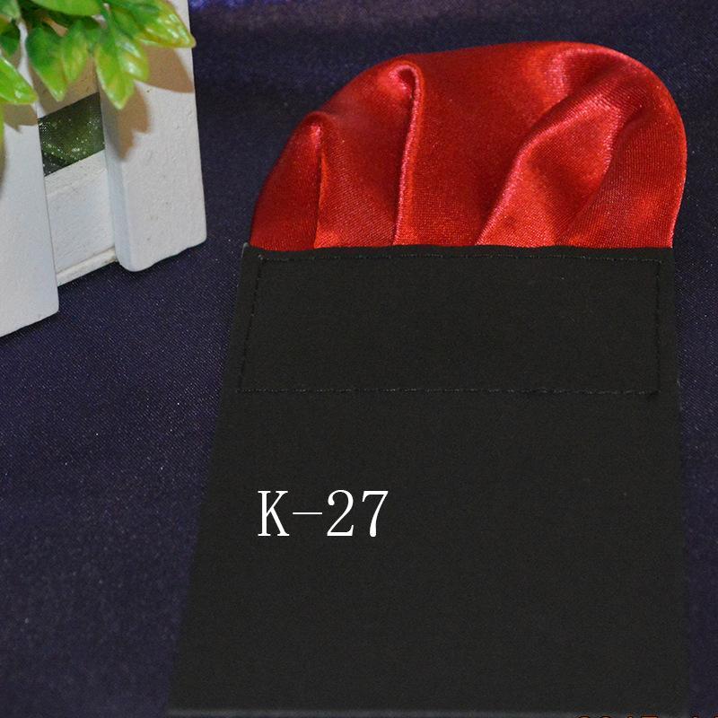 Bolso quadrado 38 cores sólida Bolso bolso Terno dos homens Bolso Lenço Para Cocktail Party Festa de Casamento de Natal Livre FedEx TNT