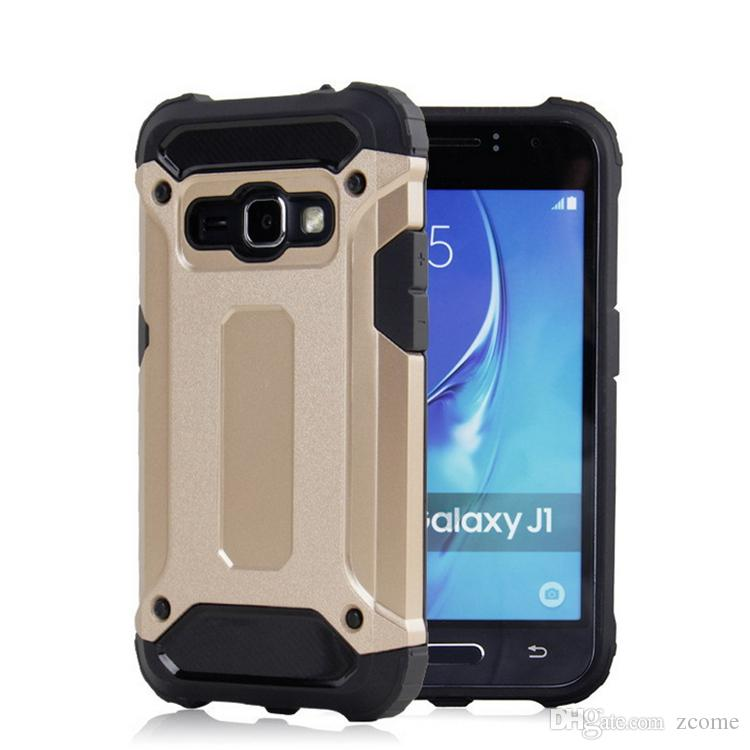 sale retailer 91a07 41a64 Slim Armor Hybrid Tough Case Heavy Duty Back Cover Shockproof defender for  Samsung Galaxy J1 J3 J5 J7 J1 ace J1 mini C5 C7 cases