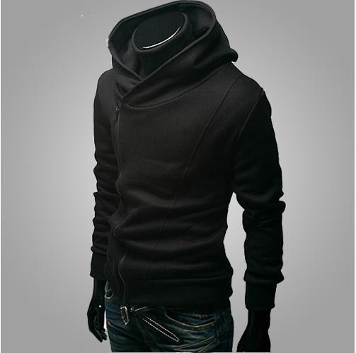 Livraison gratuite 2015 Automne Hiver Hommes Marque De Mode Casual Slim Cardigan Assassin Creed Hoodies Sweat Survêtement Vestes