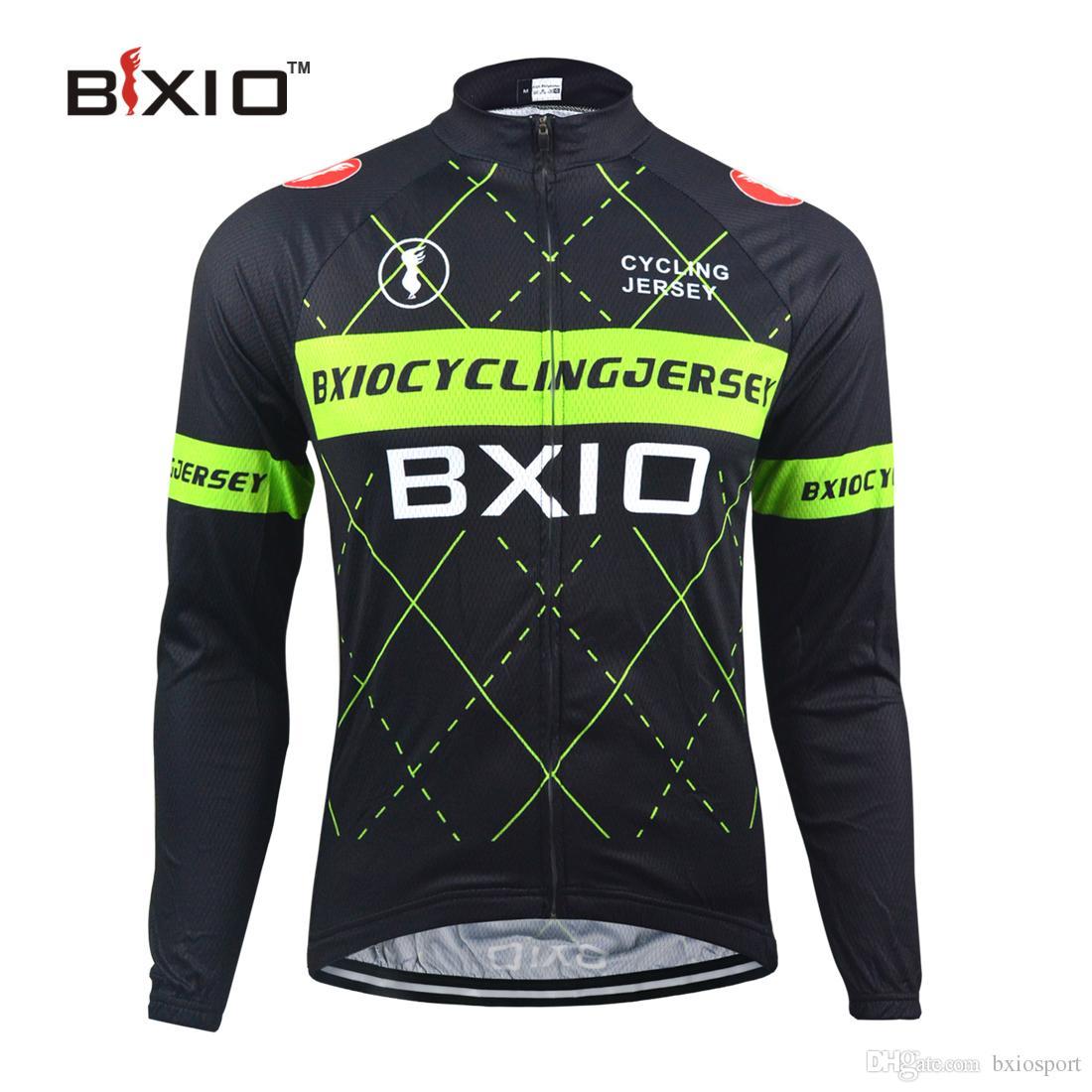 Compre BXIO Inverno Térmica Velo Ciclismo Jersey Só Pro Bicicleta Jersey Quente  Mangas Compridas Roupas De Bicicleta Outono Maillot Ciclismo BX 0109HG018P  ... 633be7526c6fd
