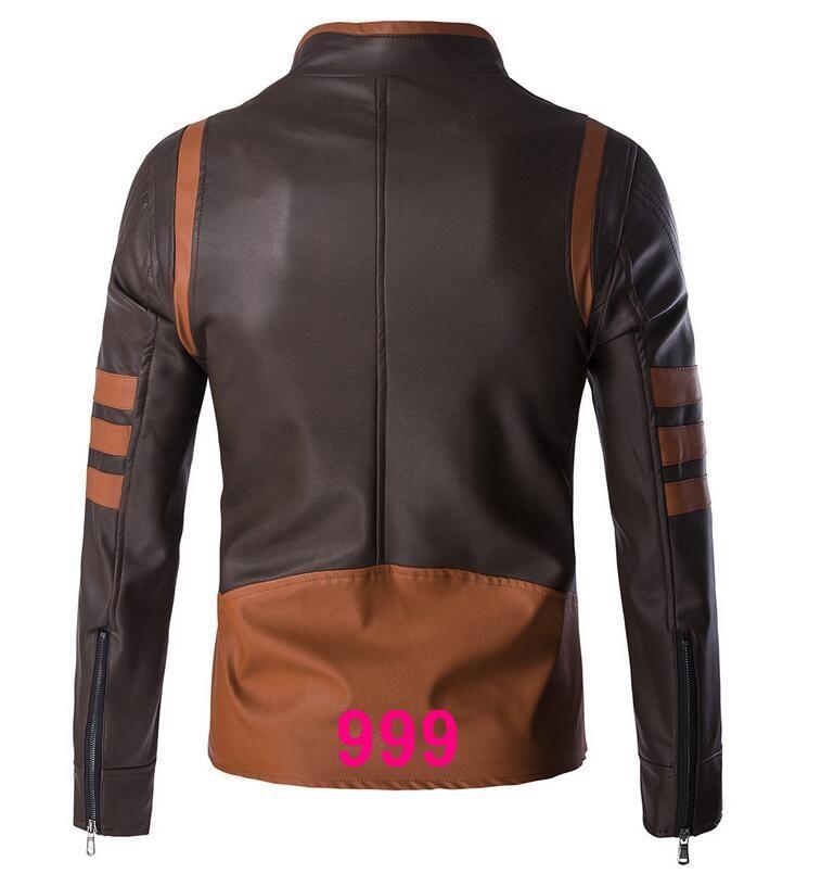 Sıcak 2016 high-end erkek deri erkek Ince deri motosiklet deri ceket Kore gelgit büyük metre Farklı stilleri