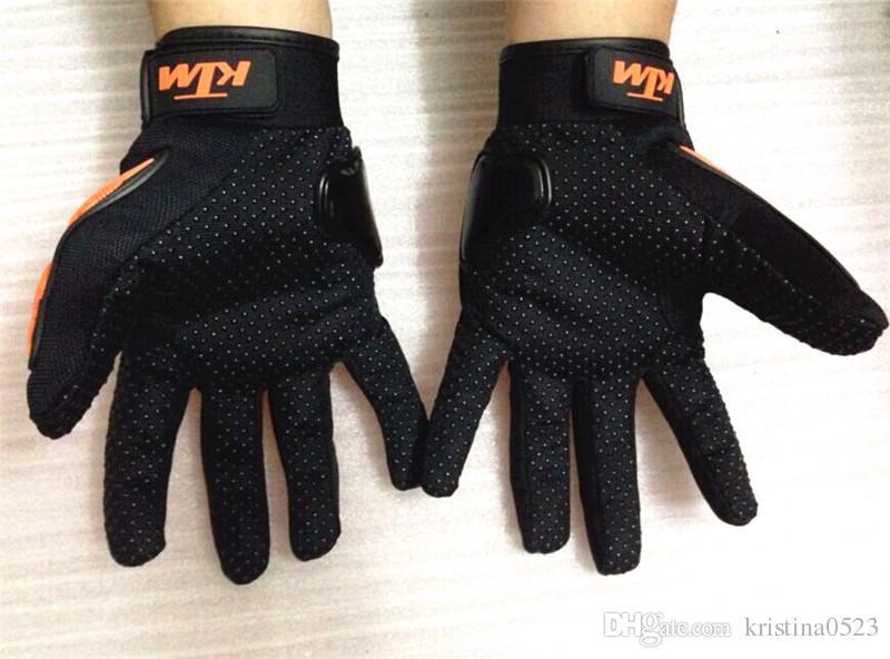 Hot sale KTM Motorcycle gloves Moto racing gloves Men's Motocross full finger gloves M/L/XL/XXL