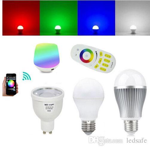 2 Mi Zones E27 Rgbww Dimmable Rgbw E14 4w Télécommande 4 6w Intelligente Bulle Contrôleur Globale Tactile 9w Rf Wifi Ampoule Gu10 Light 4g 5w 7fb6vgyYI