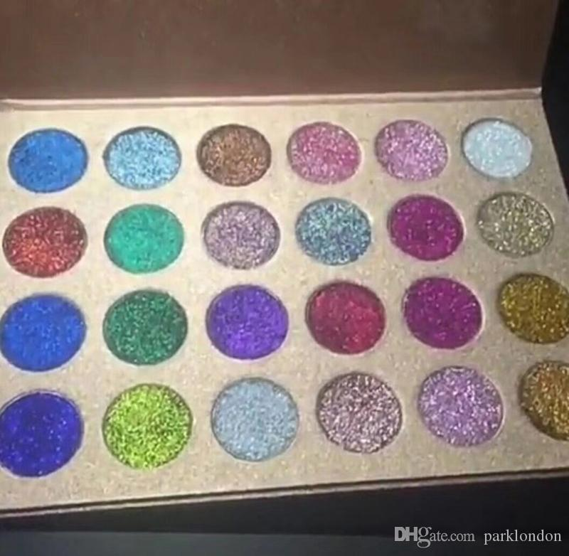 الأسهم الجديدة!! CLEOF Cosmetics Unicorn Glitter Eyeshadow Palette Makeup Eye Shadow Palette حار بيع