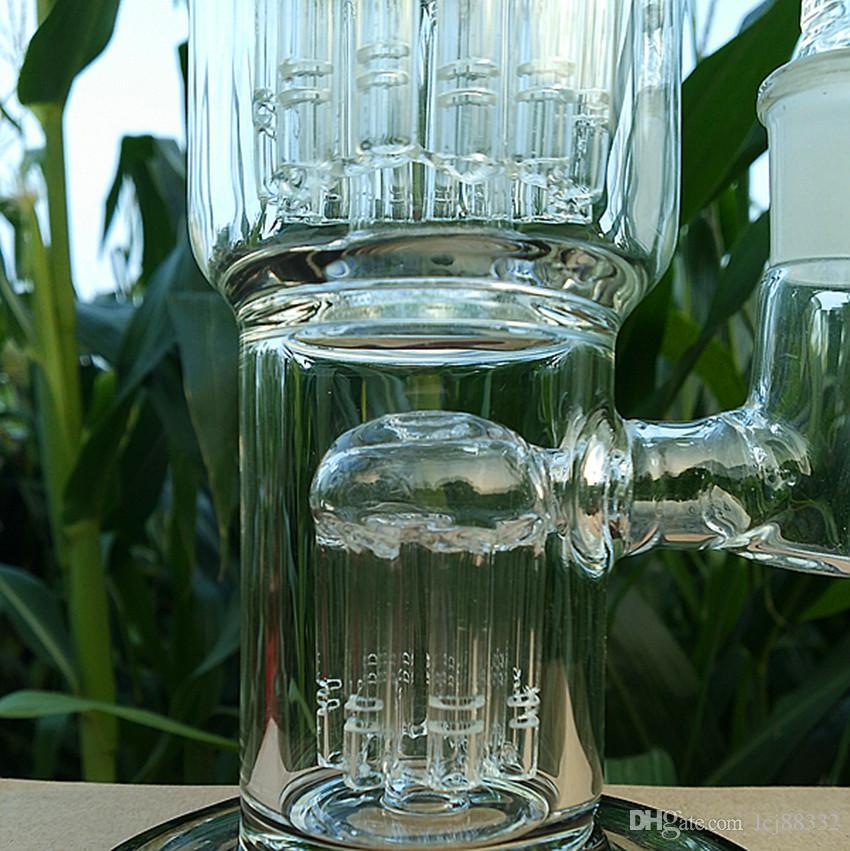 핫 판매! 유리 물 파이프와 유리 봉 공장 아울렛 TORO 재활용 버블 물 파이프 석유 굴착 키가 큰 famale 공동 18.8mm를 11inches
