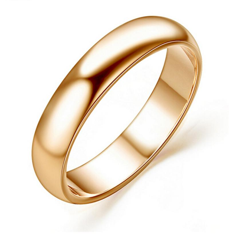 Classic Design Wedding Ring 18k Yellow Gold Plated Fashion High ...